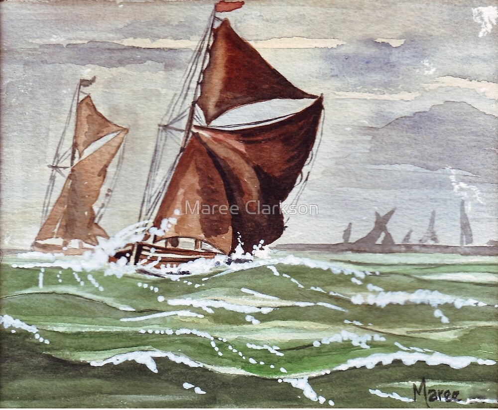 Maybe we could sail away... by Maree Clarkson