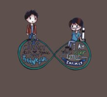 """The Fault In Our Stars (TFIOS) - """"...Infinity"""" [Shirts & Transparent Stickers] Kids Clothes"""