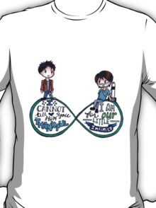 """The Fault In Our Stars (TFIOS) - """"...Infinity"""" [Shirts & Transparent Stickers] T-Shirt"""