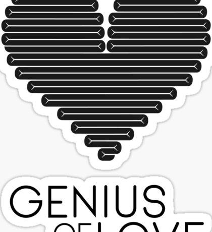 Genius of Love (Modern) Sticker