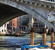 Under the Rialto Bridge by Violaman