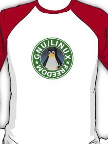 Tux : GNU/LINUX FREEDOM T-Shirt