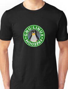 Tux : GNU/LINUX FREEDOM Unisex T-Shirt