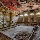 abandoned decay event hall by christian richter