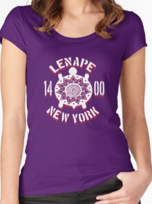 lenape tribe Women's Fitted Scoop T-Shirt