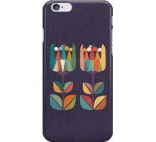 Whimsical Tulip Flower in Bloom iPhone Case/Skin