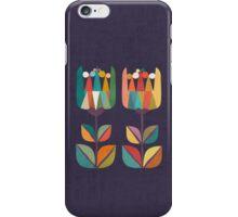 Whimsical Tulip Flower in Bloom iPhone Case/Skin