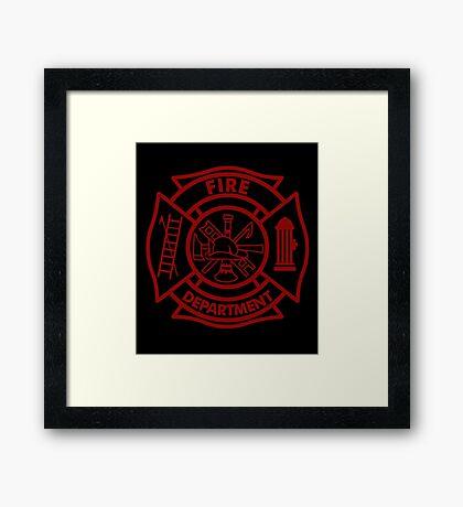 Fire Department Framed Print