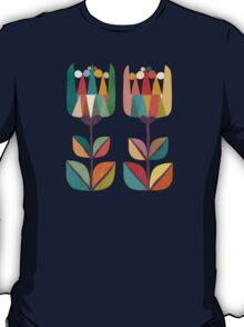 Whimsical Tulip Flower in Bloom T-Shirt