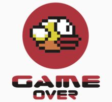 Flappy Bird - Dong iPhone Game-Over T-Shirt by deanworld