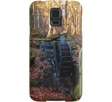Water wheel in the wood | architectural photography Samsung Galaxy Case/Skin