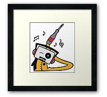DigiDoodles: DJ Radiohead Framed Print