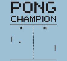 Pong Champion Kids Clothes