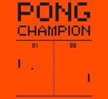 Pong Champion Kids Tee