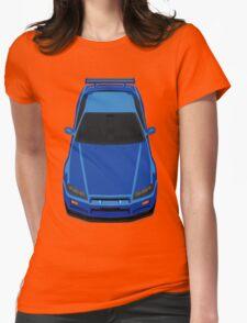 Nissan Skyline GTR R34 Womens Fitted T-Shirt