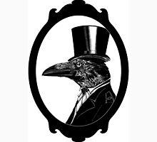 Raven in top hat Unisex T-Shirt