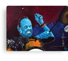 Lars Ulrich, Metallica Canvas Print