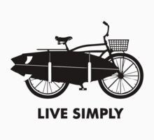 Live Simply Baby Tee