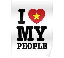 I Heart (Love) My Viet People Poster