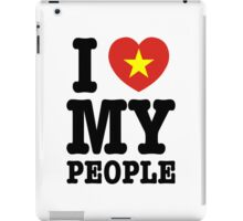 I Heart (Love) My Viet People iPad Case/Skin