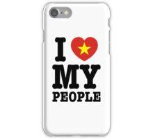 I Heart (Love) My Viet People iPhone Case/Skin