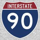 Interstate 90 by cadellin
