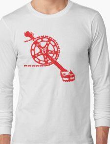 Cycling Crank Long Sleeve T-Shirt