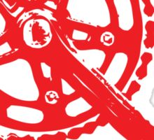 Cycling Crank Sticker