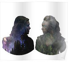 Clexa - The 100 Poster