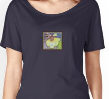 Okra Blossom Women's Relaxed Fit T-Shirt