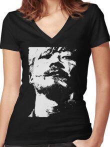 Kakihara - Ichi the Killer Women's Fitted V-Neck T-Shirt