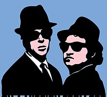 BLUES BROTHERS by John Medbury (LAZY J Studios)