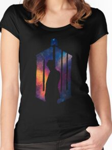 Dr Who - 11th Women's Fitted Scoop T-Shirt