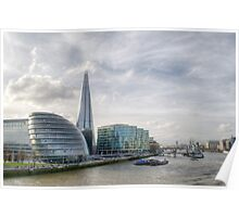 The Shard London Poster