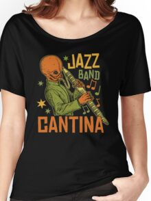 Cantina Jazz Band Women's Relaxed Fit T-Shirt