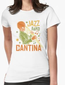 Cantina Jazz Band Womens Fitted T-Shirt