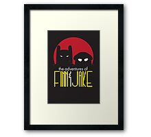 The Animated Adventures of Finn and Jake Framed Print