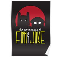 The Animated Adventures of Finn and Jake Poster
