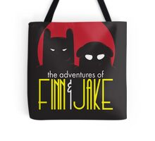 The Animated Adventures of Finn and Jake Tote Bag