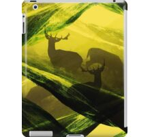 Oh Deer Complex Green iPad Case/Skin