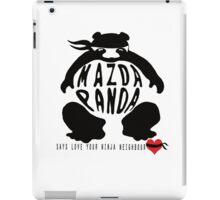 mazda bongo love !! iPad Case/Skin