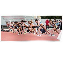 Running sart Poster