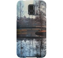 A bridge, the river and reflections | waterscape photography Samsung Galaxy Case/Skin