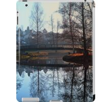 A bridge, the river and reflections | waterscape photography iPad Case/Skin