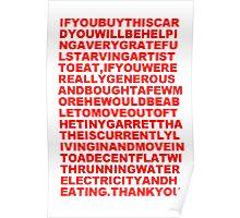 Heartfelt Plea Poster