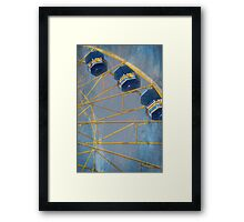 Sky Buckets Framed Print
