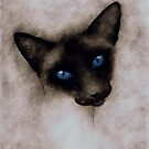 SUKI THE SIAMESE CAT by Leny .