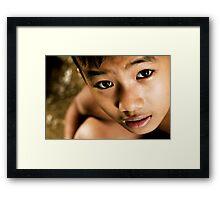 Look of Innocence Framed Print