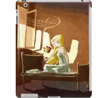 Morning coffee iPad Case/Skin