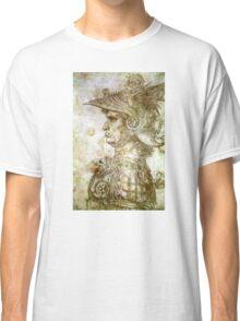Leonardo da Vinci Man in Armour Classic T-Shirt